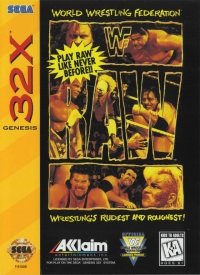 WWF Raw Box Art