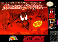 Spider-Man & Venom: Maximum Carnage (red cartridge) Box Art