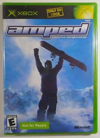 Amped: Freestyle Snowboarding (Not for Resale) Box Art