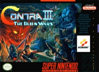 Contra III: The Alien Wars Box Art