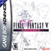 Final Fantasy V Advance Box Art