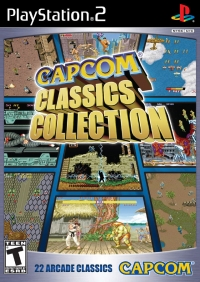 Capcom Classics Collection Box Art