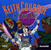 Keith Courage in Alpha Zones Box Art