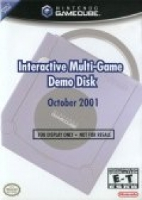 Interactive Multi-Game Demo Disc October 2001 Box Art