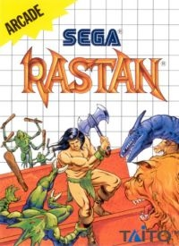 Rastan Box Art