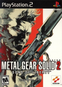 Metal Gear Solid 2: Sons of Liberty Box Art