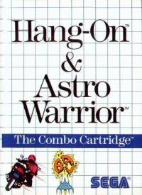 Hang-On & Astro Warrior Box Art