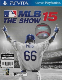 MLB 15 The Show Box Art