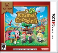 Animal Crossing: New Leaf - Nintendo Selects Box Art