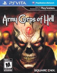 Army Corps of Hell [CA] Box Art