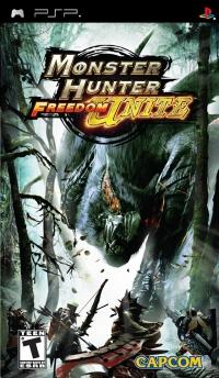 Monster Hunter Freedom Unite Box Art