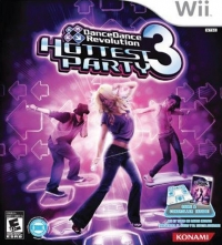 Dance Dance Revolution: Hottest Party 3 (Game & Controller) [NA] Box Art