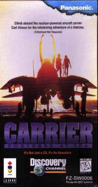 Carrier: Fortress at Sea Box Art