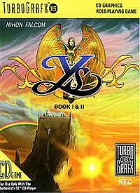 Ys Book I & II Box Art