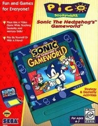Sonic The Hedgehog's GameWorld Box Art