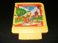 Richard Scarry's Huckle and Lowly's Busiest Day Ever (yellow cart) Box Art