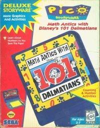 Math Antics with Disney's 101 Dalmatians Box Art