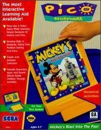 Mickey's Blast Into the Past Box Art