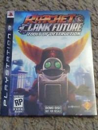 Ratchet & Clank Future Tools of Destruction (Not for Resale) Box Art