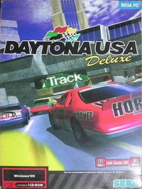 Daytona USA: Deluxe Box Art