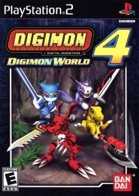 Digimon World 4 Box Art