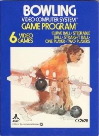 Bowling (Picture Label) Box Art