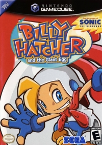 Billy Hatcher and the Giant Egg Box Art