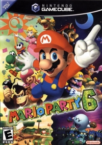 Mario Party 6 Box Art