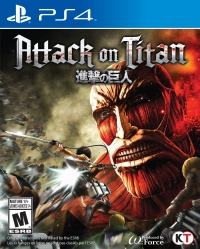 Attack on Titan Box Art