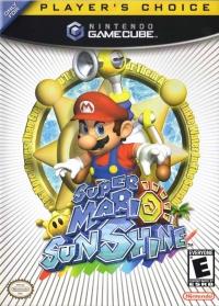 Super Mario Sunshine - Player's Choice Box Art