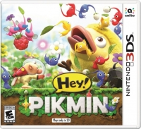 Hey! Pikmin Box Art