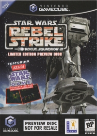 Star Wars: Rogue Squadron III: Rebel Strike - Limited Edition Preview Disc Box Art