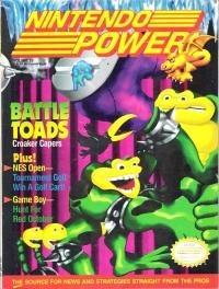 Nintendo Power - Volume 025 (June 1991) Box Art