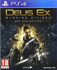 Deus Ex: Mankind Divided - Day One Edition [UK] Box Art