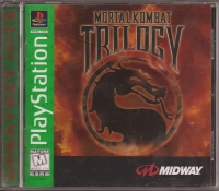 Mortal Kombat Trilogy - Greatest Hits Box Art