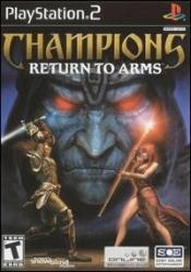 Champions: Return to Arms Box Art