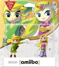 Toon Link / Zelda (The Wind Waker) - The Legend of Zelda 30th Box Art
