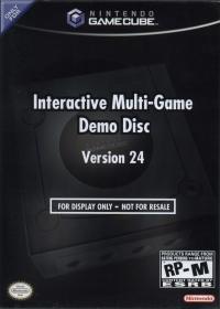 Interactive Multi-Game Demo Disc Version 24 Box Art