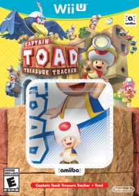 Captain Toad: Treasure Tracker + Toad Box Art
