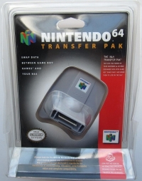 Nintendo 64 Transfer Pak [NA] Box Art