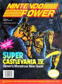 Nintendo Power - Volume 032 (January 1992) Box Art