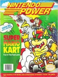 Nintendo Power - Volume 041 (October 1992) Box Art