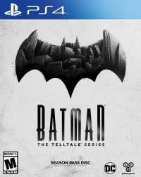 Batman: The Telltale Series Box Art