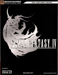 Final Fantasy IV - BradyGAMES Official Strategy Guide Box Art