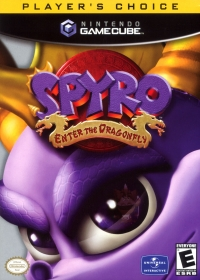 Spyro: Enter the Dragonfly - Player's Choice Box Art