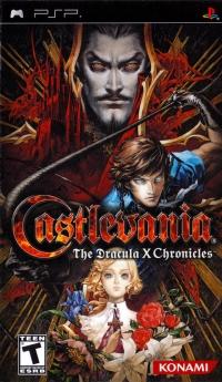 Castlevania: The Dracula X Chronicles Box Art
