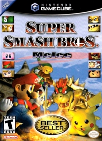 Super Smash Bros. Melee (Best Seller) Box Art