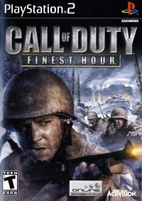 Call of Duty: Finest Hour Box Art