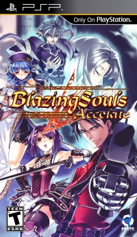 Blazing Souls: Accelate Box Art
