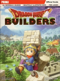 Dragon Quest Builders official strategy guide Box Art